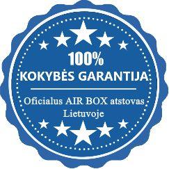 100% KOKYBĖS GARANTIJA